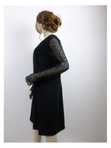 Robe femme Soulmate noir GRANDE TAILLE