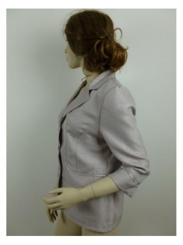 Veste femme Griffon beige rosé