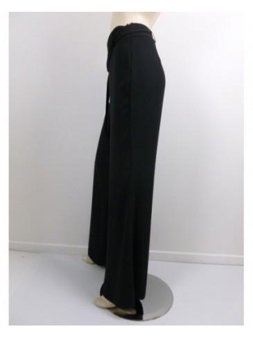 Pantalon femme Paz Torras noir fluide GRANDE TAILLE