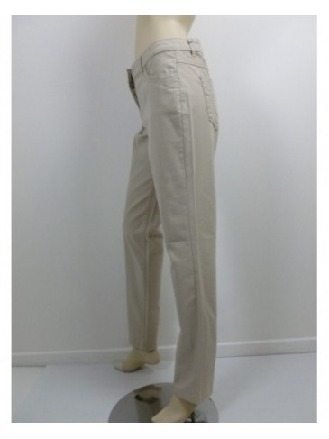 Pantalon femme Brandtex beige GRANDE TAILLE