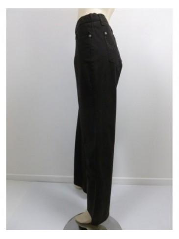 Pantalon femme Pionier conny marron GRANDE TAILLE