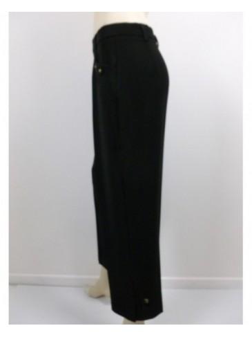 Pantalon femme 3/4 Christine Laure 44130 noir
