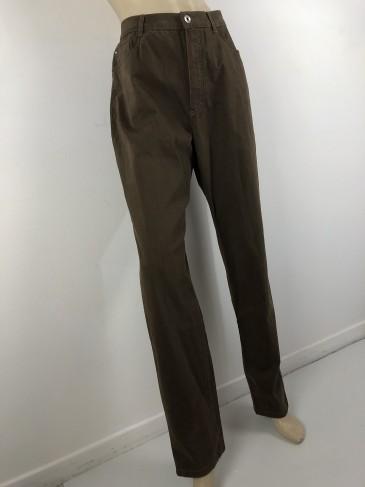 Pantalon marron kaki