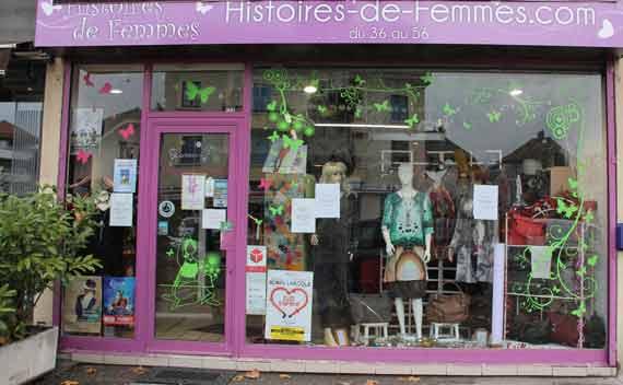 histoires de femme boutique mode annecy